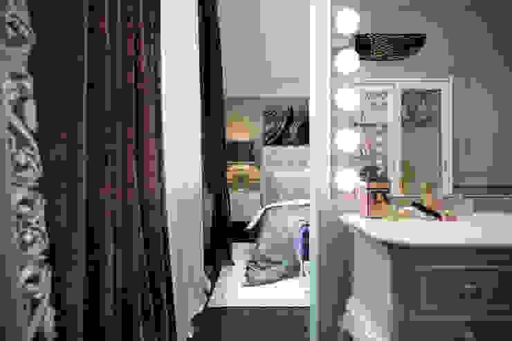 Таунхаус в г.Краснодар Design Studio Details Спальня в эклектичном стиле