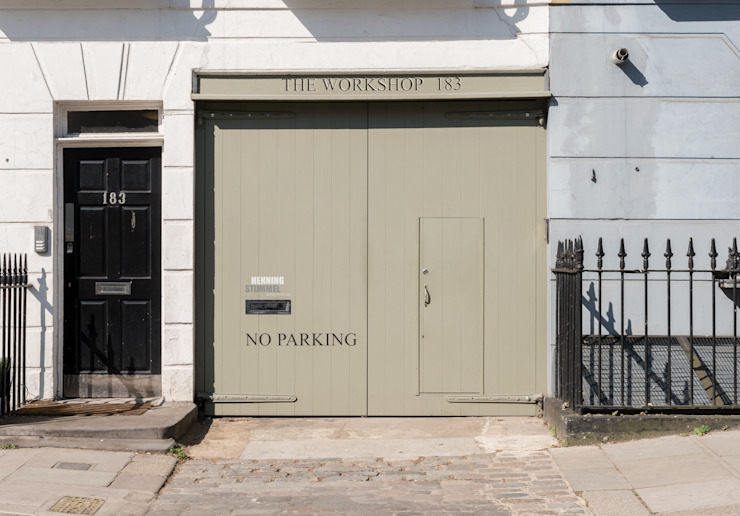 The Workshop Modern houses by Henning Stummel Architects Ltd Modern