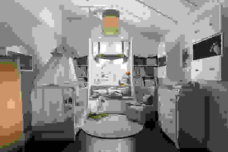 Design Studio Details Eklektyczny pokój dziecięcy
