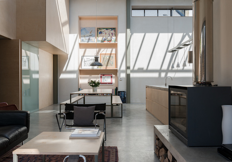 The Workshop Salle à manger moderne par Henning Stummel Architects Ltd Moderne