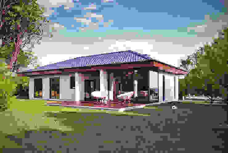 Projekty domów - House 17/17.1 Nowoczesne domy od Majchrzak Pracownia Projektowa Nowoczesny