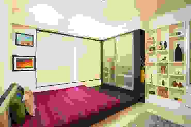 2BHK Residence Modern style bedroom by INTERIOR WORKS Modern