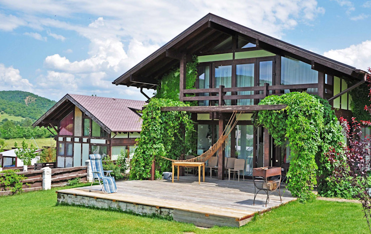 Rustic style house by Олег Чистяков Rustic