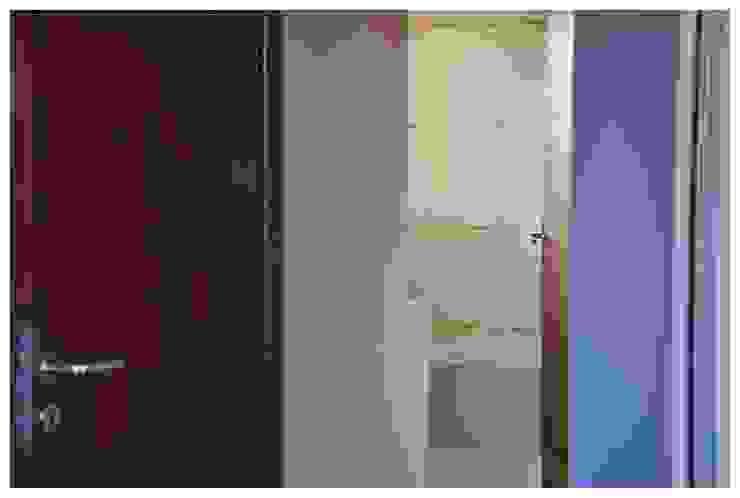 Casa B° Juramento Puertas y ventanas modernas de Kawsay Arquitectura Moderno