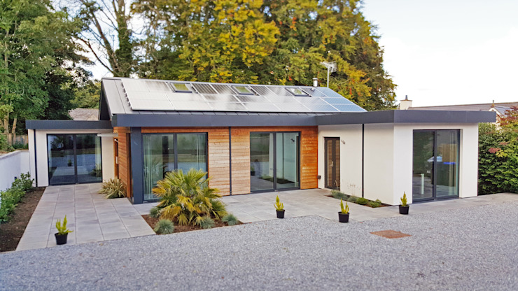 Schoolmasters eco house Moderne Häuser von build different Modern
