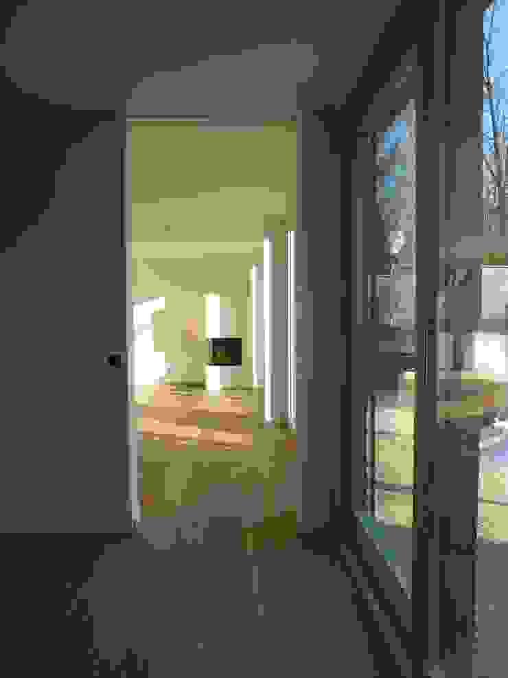 Wohnhaus Grüne Mitte Regensburg Donhauser Postweiler Architekten Moderne Wohnzimmer
