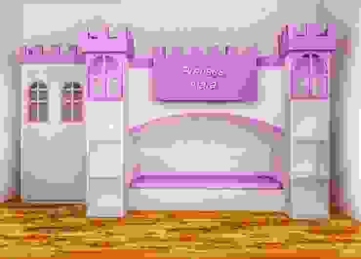 Moderne Kinderzimmer von MOBİLYADA MODA Modern Holz-Kunststoff-Verbund