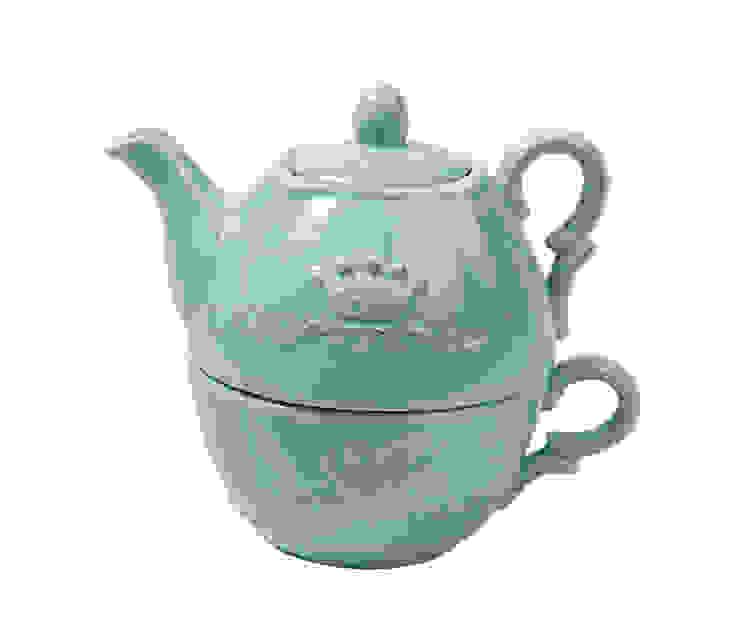 Чайник и чашка V903 от LeHome Interiors Классический Керамика