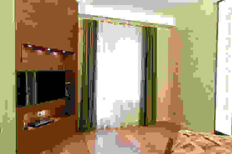 Интерьер квартиры в современном стиле Спальня в эклектичном стиле от Antica Style Эклектичный Дерево Эффект древесины