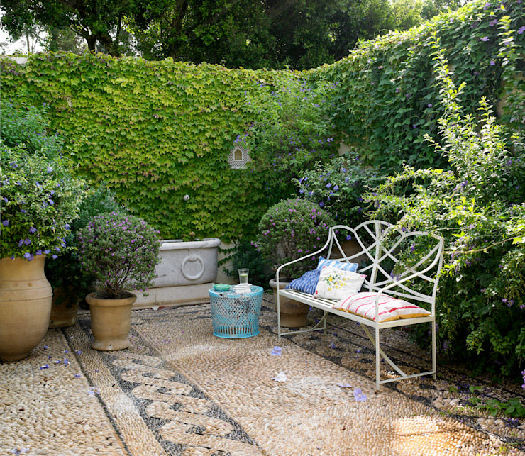 Modern Garden by Melian Randolph Modern