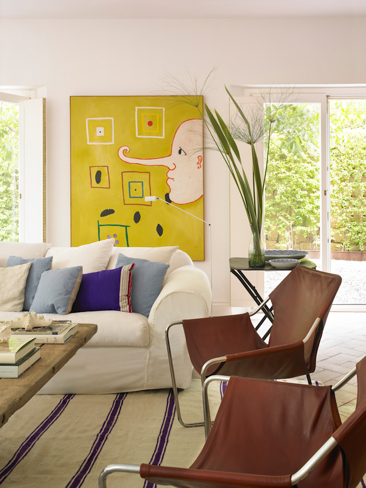 Salas modernas de Melian Randolph Moderno