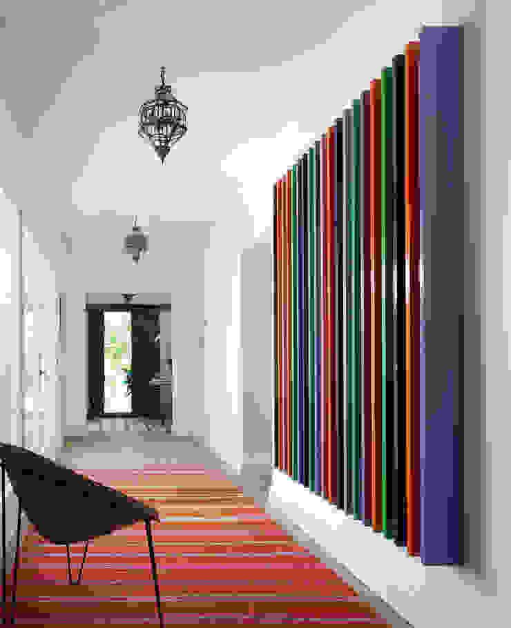 Modern Corridor, Hallway and Staircase by Melian Randolph Modern