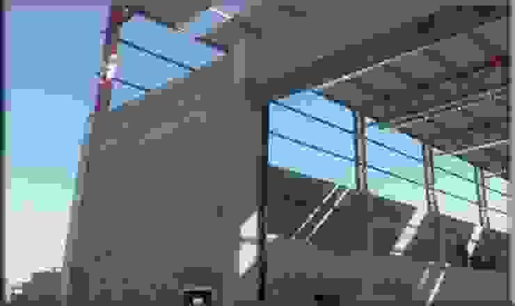 Centro Constructor Paredes y pisos de estilo industrial