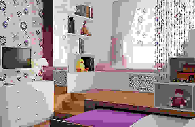Интерьер с характером Спальня в стиле модерн от студия дизайна 'Крендель' Модерн