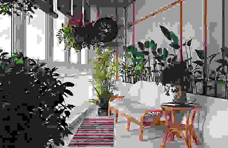 Modern conservatory by студия дизайна 'Крендель' Modern