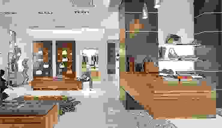 Реализация Офисы и магазины в эклектичном стиле от Игорь Полищук Эклектичный