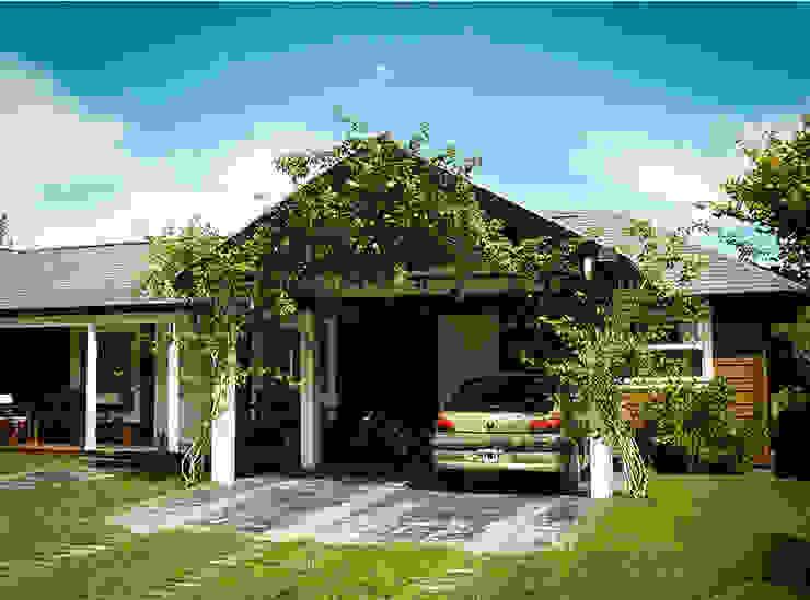 CASA AMUI Marayui Country Club Casas rurales de Chauvín Arquitectura Rural Madera Acabado en madera