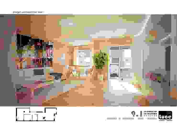 Salas de estar minimalistas por Luce a+i Minimalista