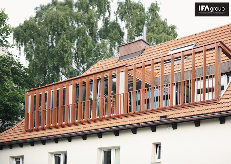 Modern houses by IFA Kamil Domachowski Modern