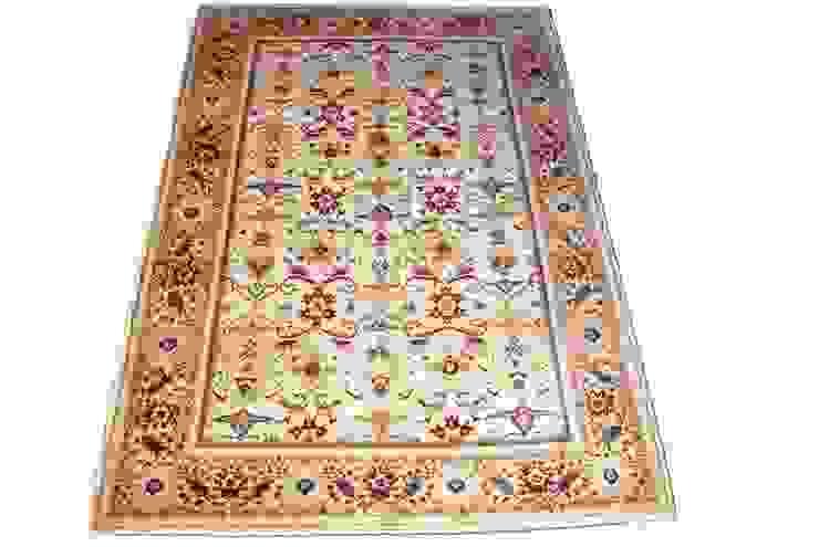 от Aran Carpet Рустикальный Шерсть Оранжевый