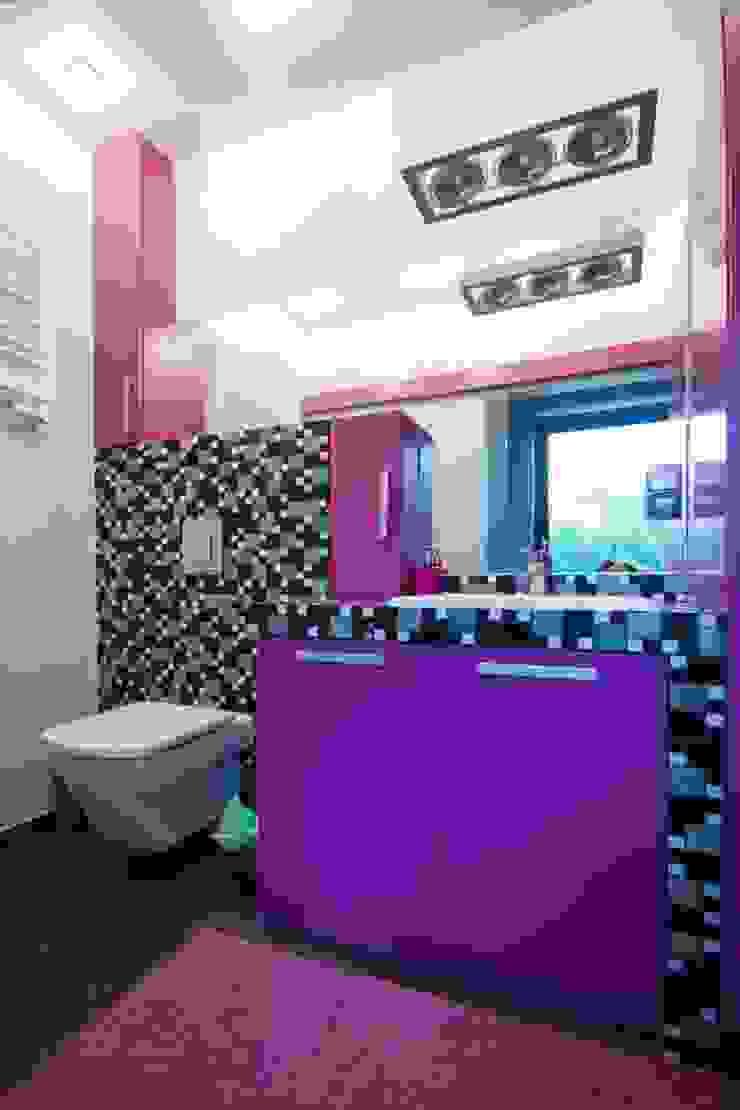 Mieszkanie Nowoczesna łazienka od 3D2 design art Nowoczesny