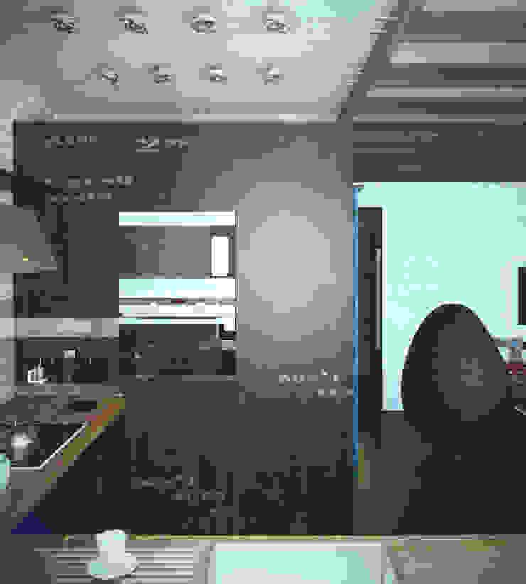 Valeria Ganina Industrial style kitchen