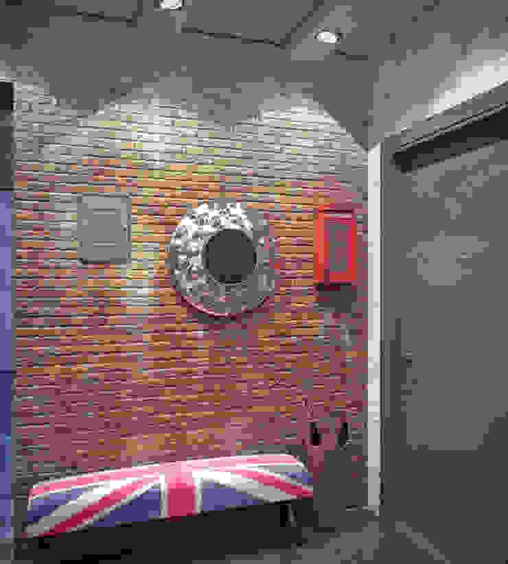 Valeria Ganina industrial style corridor, hallway & stairs