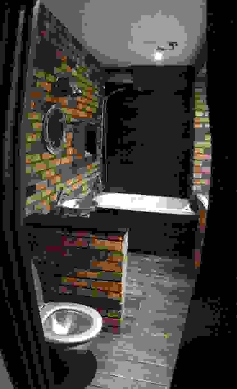 Valeria Ganina Industrial style bathroom
