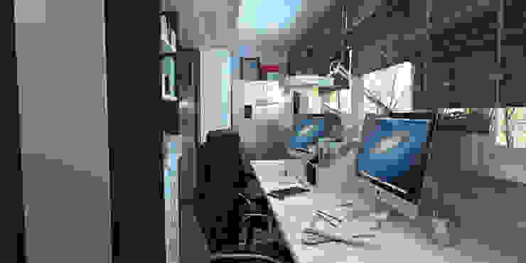 Рабочий кабинет в классическом стиле от homify Классический
