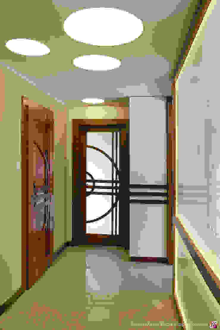 ห้องโถงทางเดินและบันไดสมัยใหม่ โดย Grafick sp. z o. o. โมเดิร์น