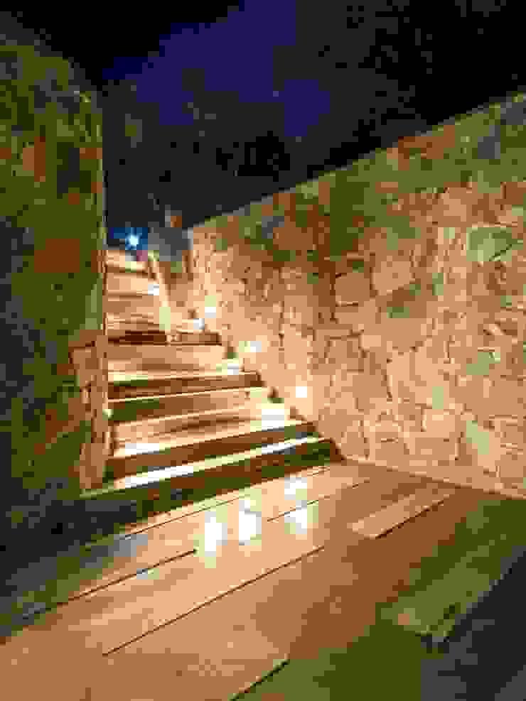 Casa Q2 Pasillos, vestíbulos y escaleras modernos de Arq. Santiago Viale Lescano Moderno