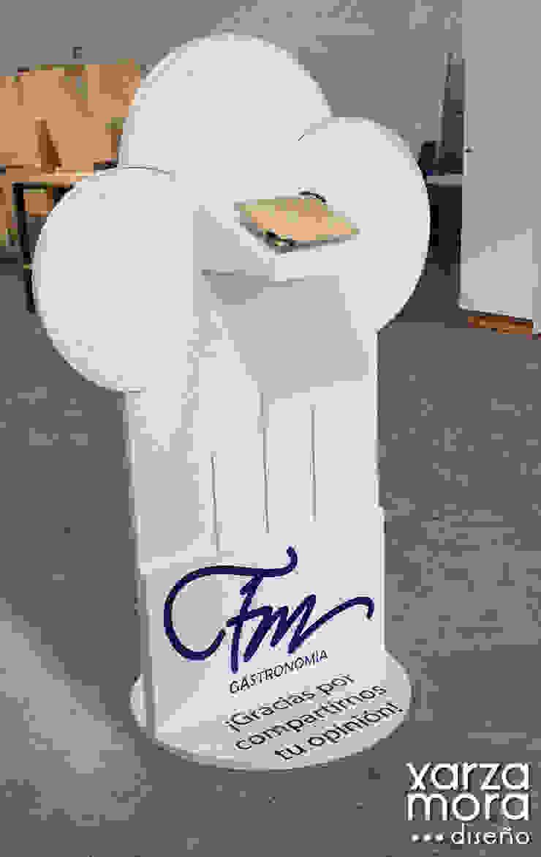 FM Gastronomía Gastronomía de estilo minimalista de Xarzamora Diseño Minimalista