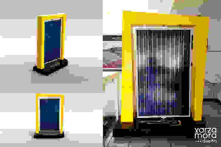 Mansur Solar Espacios comerciales de estilo minimalista de Xarzamora Diseño Minimalista