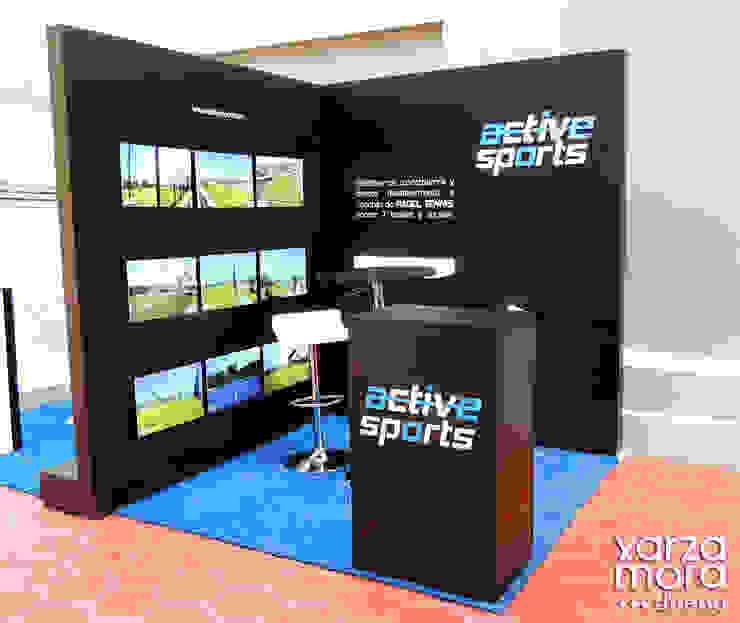 ActiveSports Centros de exposiciones de estilo minimalista de Xarzamora Diseño Minimalista
