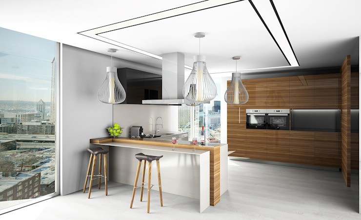 Eclectic style kitchen by Live Decoration Eclectic