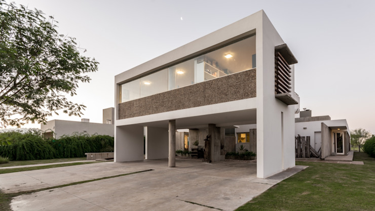 barqs bisio arquitectos Modern Houses