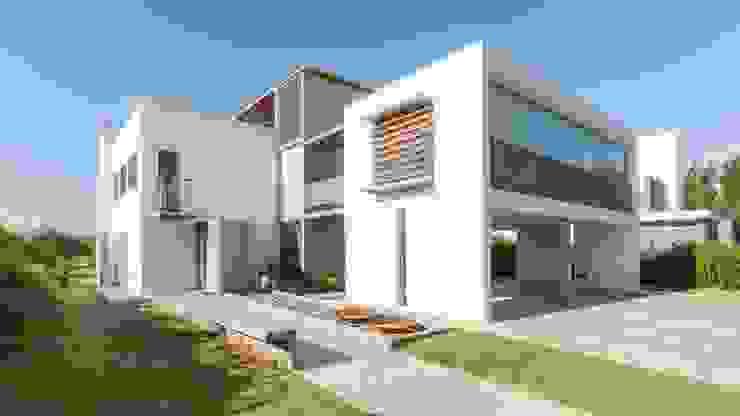 CASA LA SANTINA : Casas de estilo  por barqs bisio arquitectos