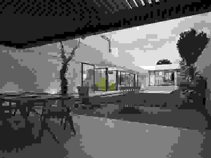 Casa Silveira Jardines modernos de TNGNT arquitectos Moderno