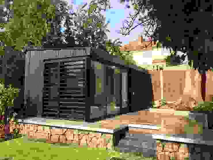 Garden Office Modern study/office by Gruhe Architects Modern