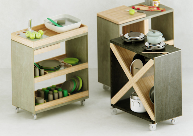Christian Chalupka - Gestaltung für Produkt und Grafik CocinaEstanterías y gavetas