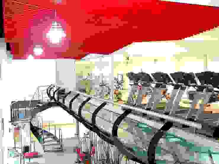 Modern gym by SANTIAGO PARDO ARQUITECTO Modern Glass