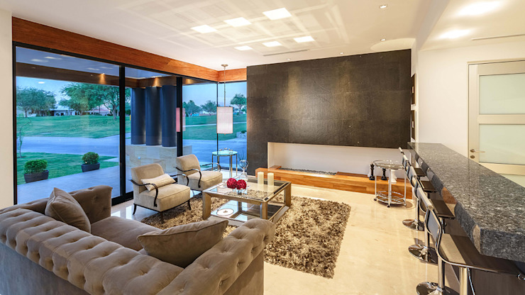 Moderne woonkamers van Imativa Arquitectos Modern