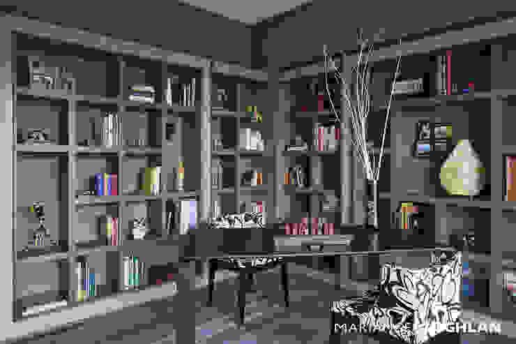 MARIANGEL COGHLAN Modern style study/office Multicolored