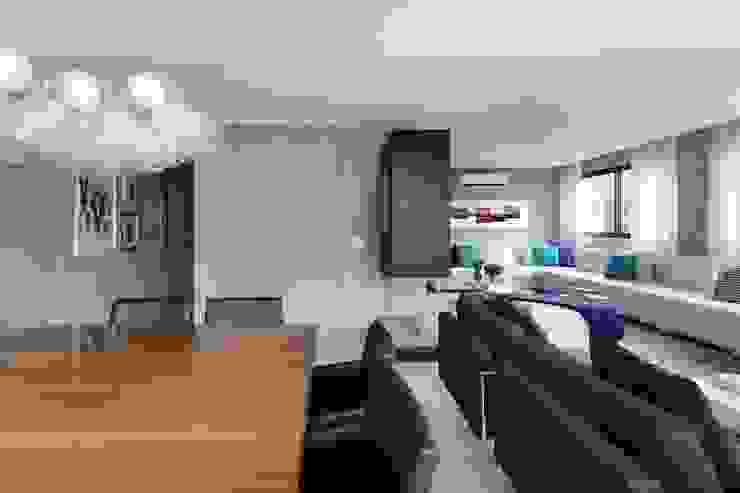 Hildebrand Silva Arquitetura - Cidade Jardim Salas de jantar modernas por Mariana Orsi Fotografia Moderno