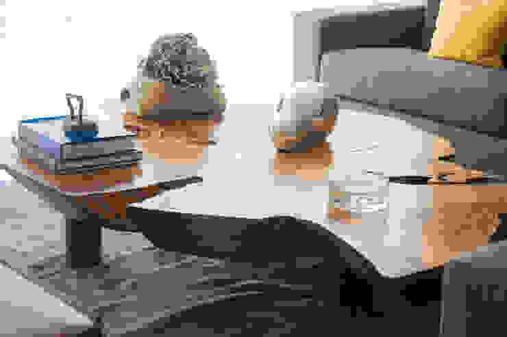 MESA LOTO de MADRE VETA Moderno Madera Acabado en madera