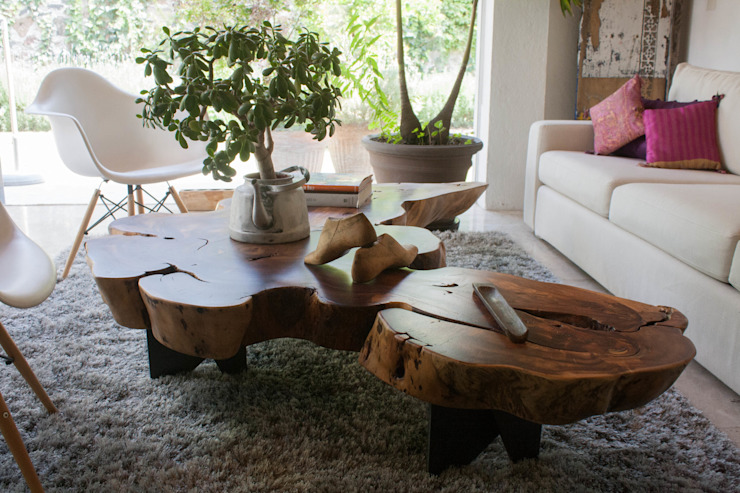 MESA MARIPOSA de MADRE VETA Moderno Madera Acabado en madera