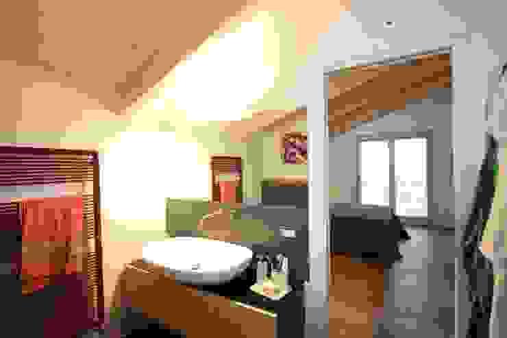 marco carlini architetto Modern Bedroom