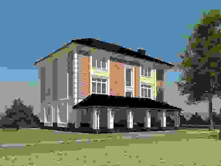 Индивидуальный жилой дом Дома в классическом стиле от Андреева Валентина Классический