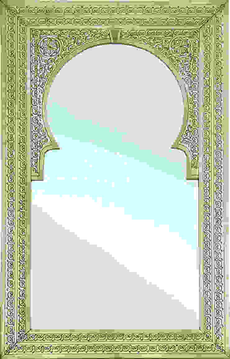 Messing Spiegel Fes van Orientflair Mediterraan