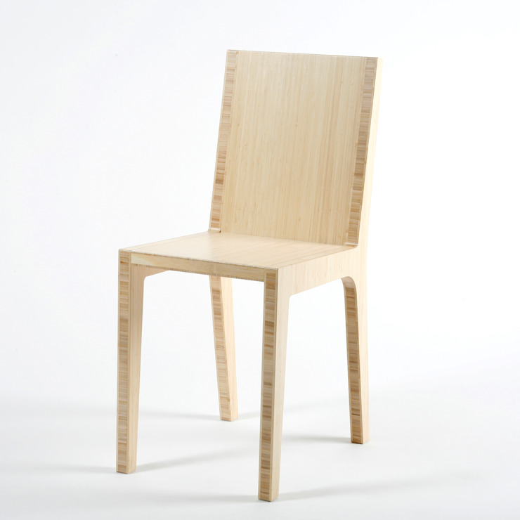 modern  by Studio Lara de Greef, Modern Bamboo Green